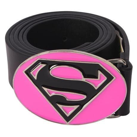 Opasok  dámsky kožený Supergirl,