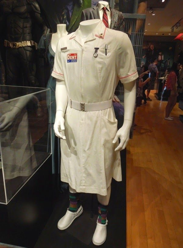 Reference for Nurse Joker costume