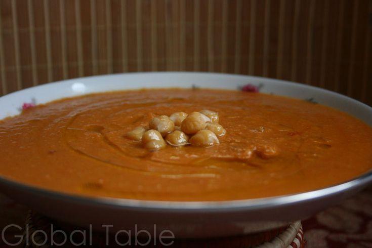 Recipe: Spicy Chickpea Soup (Hummus bi'l Kammun)