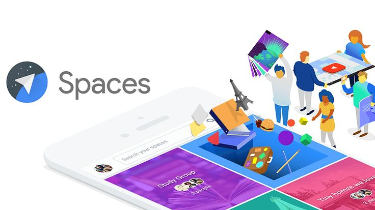 Google launches 'Spaces' app for small group sharing