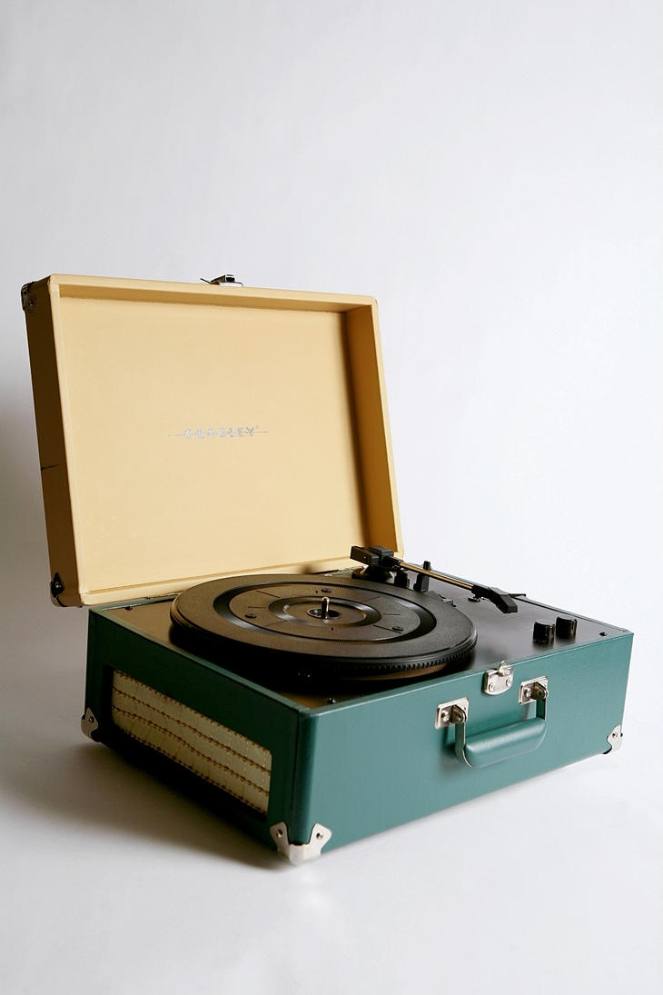 I need a record player...I have old vinyl and got some new stuff and no longer have a record player.  This one is so cool!!