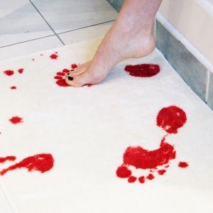 alfombra de baño sangrienta de spinning hat €21.40