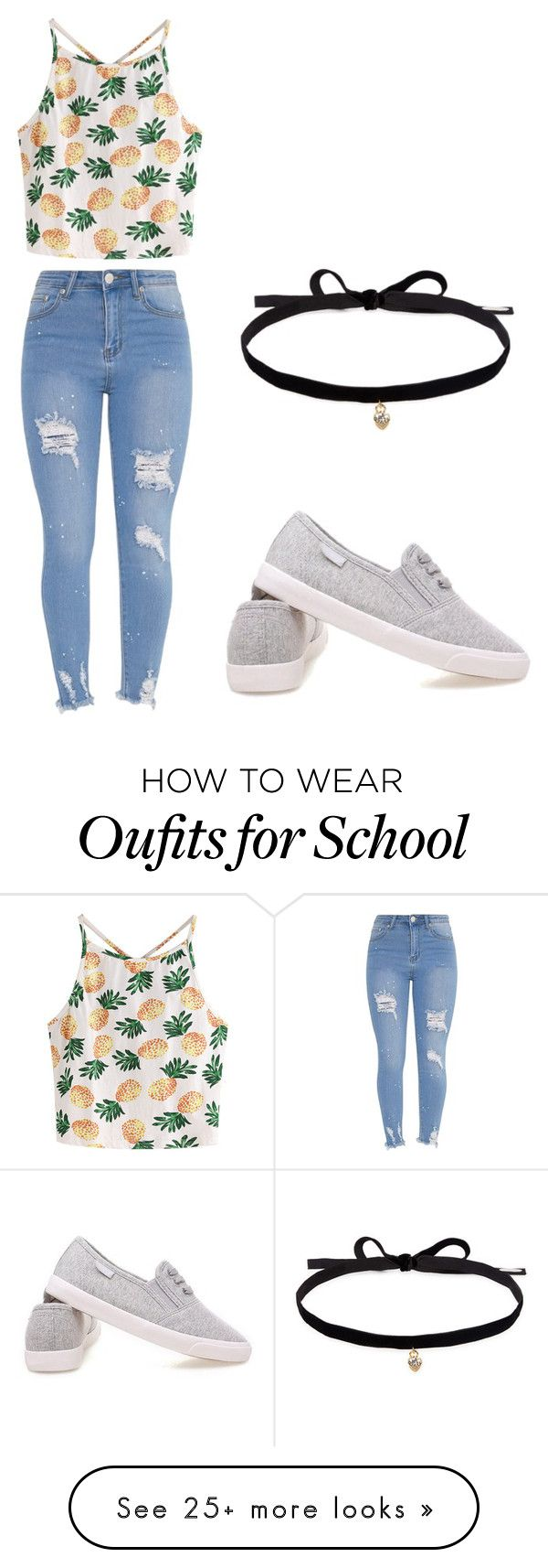 """""""Back To School Series"""" by ememlove22 on Polyvore featuring WithChic and Joomi Lim"""
