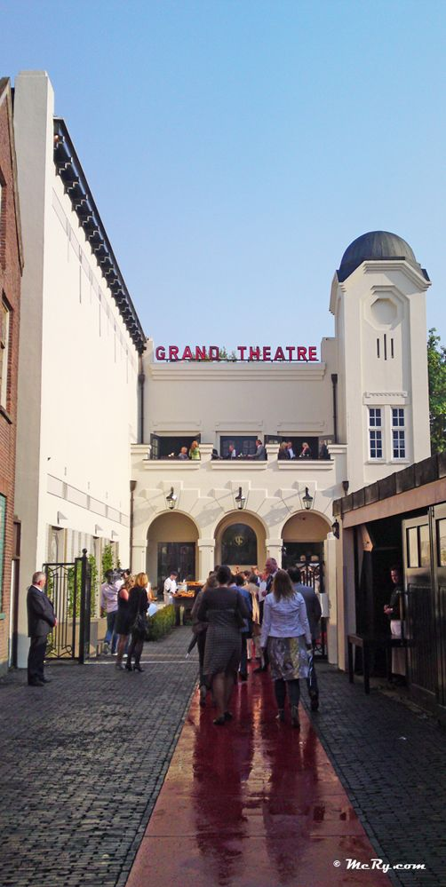 Grand Theatre Breda Movie Theather Used To Live Just Around The Corner