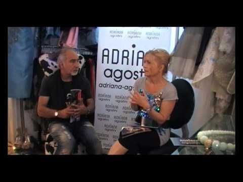 http://www.donnaimpresa.com PREMIERE DONNA: Bruno Baldassarri intervista la stilista Adriana Agostin...