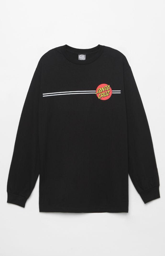 Santa Cruz Classic Dot Long Sleeve T-Shirt at PacSun.com