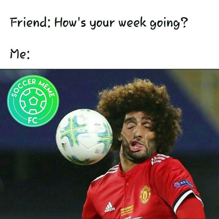 soccer memes football meme funny ball cup fellaini sports super futbol soccermemes manchester during club united american uefa hope having