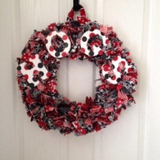 Razorback Door Wreath
