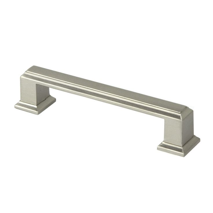 Contemporary 4.25-inch Roma Stainless Steel Brushed Nickel ...