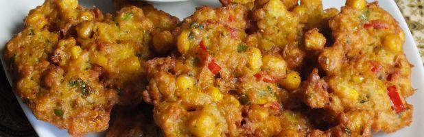 Perkedel jagung - Kokkie Slomo - Indische recepten