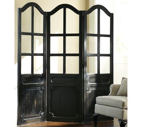Screen room dividers paravan pinterest stand on for Barn door dividers