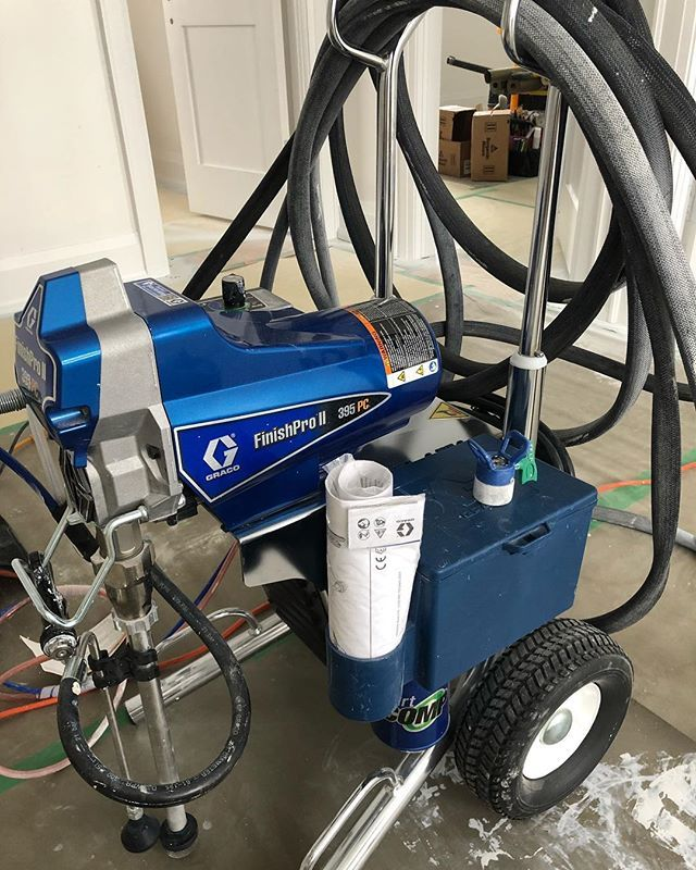 Graco FinishPro II 395PC best purchase ever made. Time saver and professional grade spray finish every time. #gracofinishpro #graco @gracopaintsprayers #airassisted #professionalspraying #painting #interiordesign #sprayfinish #painter #toronto #mississauga #oakville #310fflp #airassistedairless #interior #trimanddoors