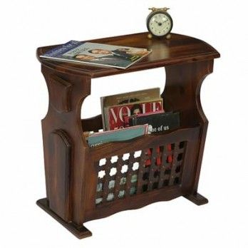 Buy #Tredwell #Magazine #Rack (Walnut Finish) online in India from Wooden Street. Shop for a wide range of perfect collection of magazine racks with high quality. Get great discount with free shipping. Visit : https://www.woodenstreet.com/magazine-rack available in #Hyderabad #Indore #Jaipur #Jodhpur #Kochi #Kolkata