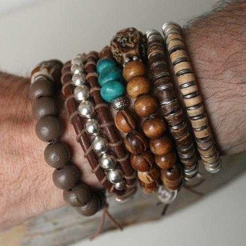 Bracelets for men...soon online...