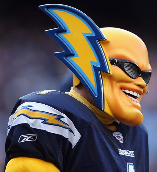 San Diego Chargers Fan: 17 Best Images About NFL TEAM MASCOTS On Pinterest