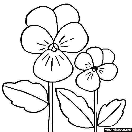 21 best ideas for the house images on pinterest art for Viola coloring page