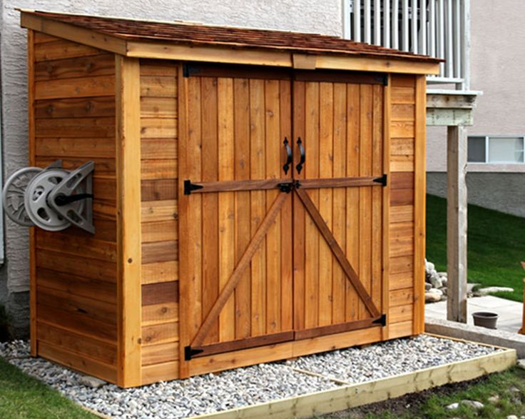 best picture of the year 2012 contemporary sheds vancouver outdoor living today cedar - Garden Sheds Vancouver