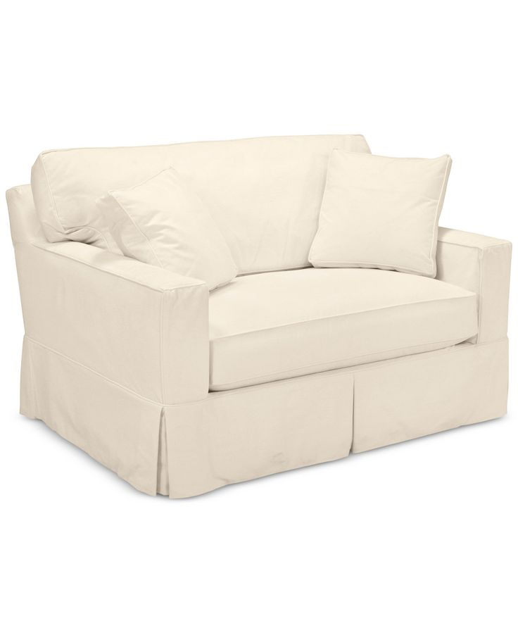 Shawnee Full Size Sleeper With Slipcover Loveseat Sofa Slp Macy S
