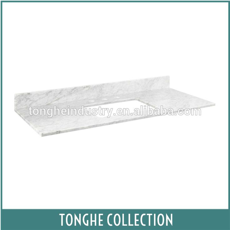 48 inch hotel cheap bathroom vanity tops with single sink