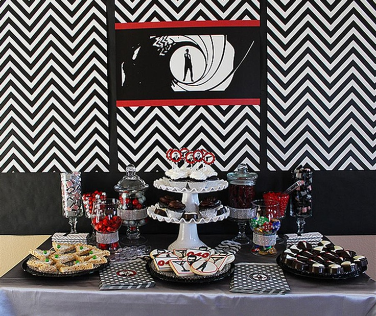32 best james bond themed party ideas images on pinterest for 007 decoration ideas