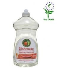 Solutie pentru spalarea vaselor cu grapefruit, 100% biodegradabila, eficienta impotriva grasimilor si impuritatilor.