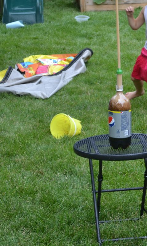 how to make a geyser for a school project