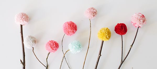 maybe i can finally figure out how to make my pompoms look like pompoms and not haystacks?