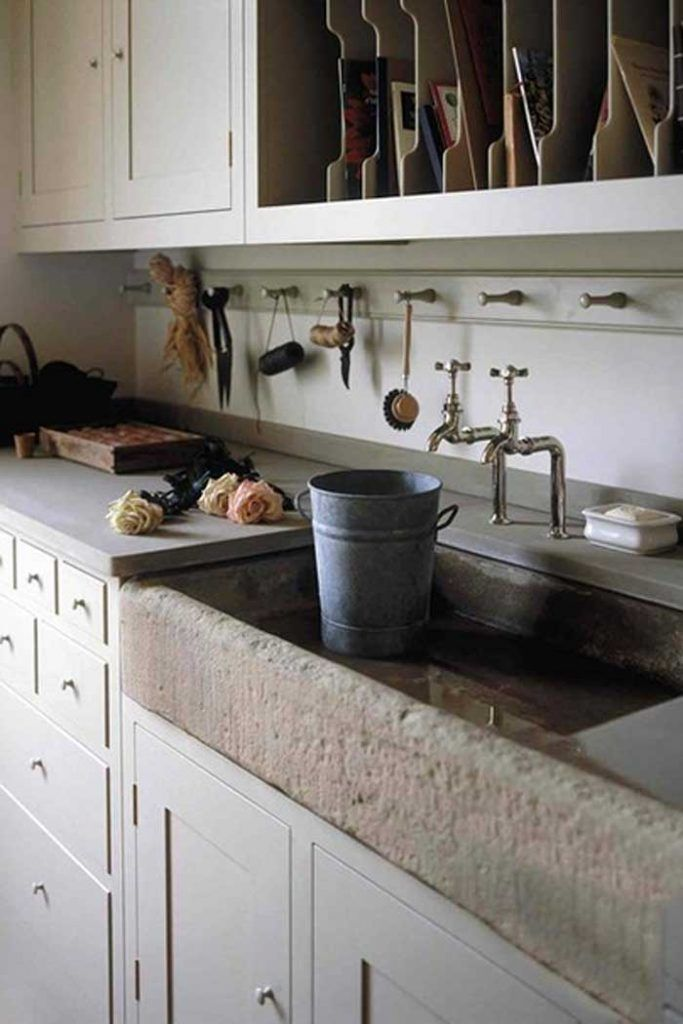 Stone Sinks In Boot Rooms Gives A Full On Rustic Feel Bootrooms