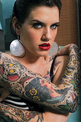sleeve by Oliver Peck. I REALLY want him to do my next tattoo.