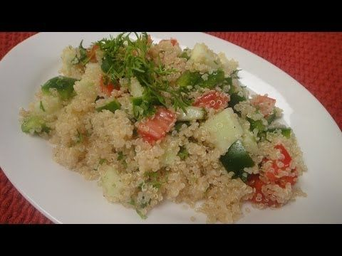 Quinoa Salad | Vegetarian Video Recipe by chef Sanjeev Kapoor.