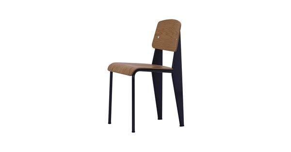 Standard stol - amerikansk valnöt, deep black - Stolar – Möbler från Svenssons i Lammhult