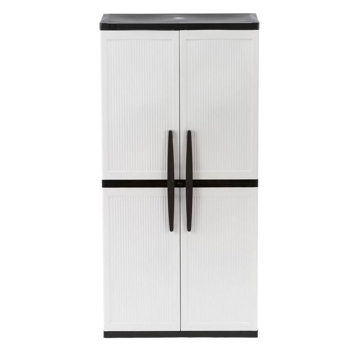 Tall Plastic Storage Cabinets With Doors