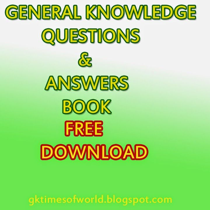 WORLD GK TIMES: General Knowledge Questions with Answers - 29-10-2...