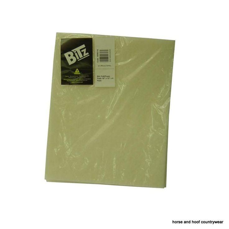 Bitz Felt Foam Pads A pack of protective bandage pads for extra protection underneath bandages Laminated felt and foam Washable.