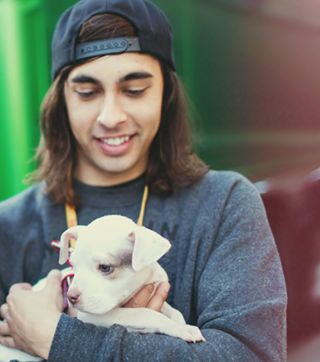 Aww!! I want PTV to show up at my house holding puppies and singing a Match Into Water or Hold On Til May for my birthday too!