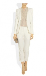 Trouser suit by Alexander McQueen