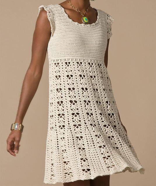 Vestido a crochet