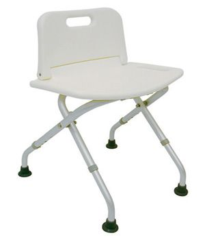 duromed folding shower bench with back white find similar products by clicking the visit button - Shower Chair With Back