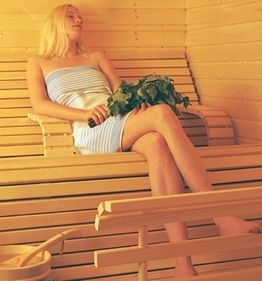If i had space for a sauna....  Aesthetic & ergonomic sauna furnishings by Muoto-lauteet.