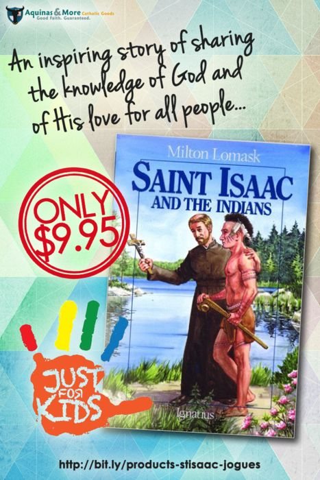 This is the inspiring story of St. Isaac Jogues' enslavement by the Mohawks, his daring escape, and finally, his death as a martyr for the Faith.
