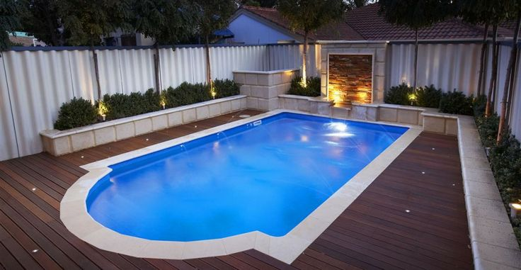 Good swimming pool design for small garden area | For the Home ...
