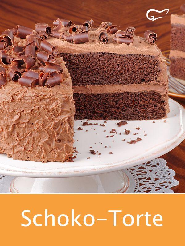 Mit diesem leckeren Rezept für eine Schoko-Torte gelingt ein traumhafter Genuss…