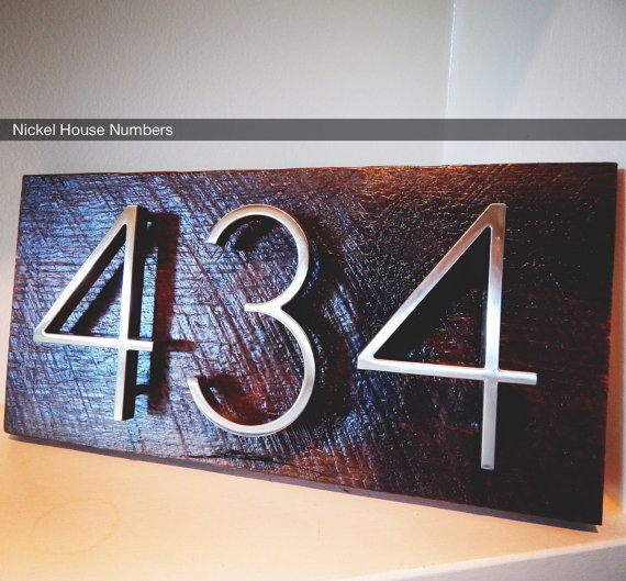 18 best House numbers images on Pinterest House numbers Address