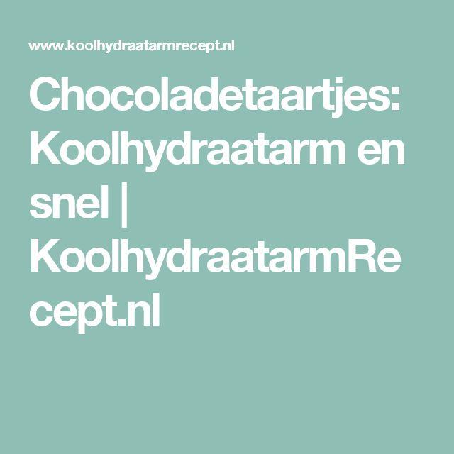 Chocoladetaartjes: Koolhydraatarm en snel   KoolhydraatarmRecept.nl