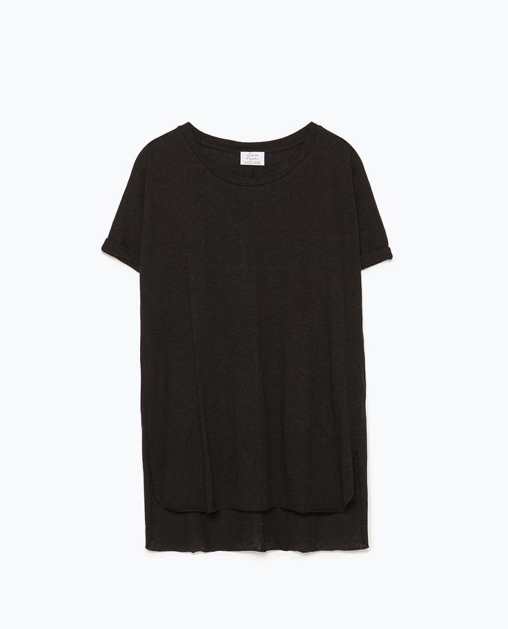 ZARA - WOMAN - BASIC T-SHIRT