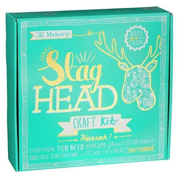Wild & Wolf Stags Head Kit  #gift #cool #cheap #mzube #gifts #birthday #sale #quirky #presents #shopping   https://www.mzube.co.uk