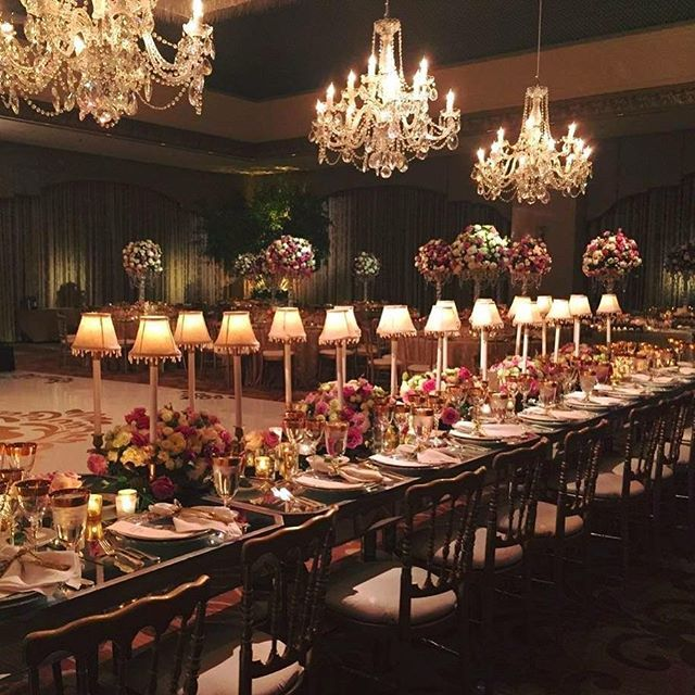 Table Decor International Ritz Carlton Chicago Lamps