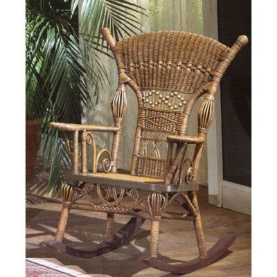 42 Best Wicker Rocking Chairs Images On Pinterest