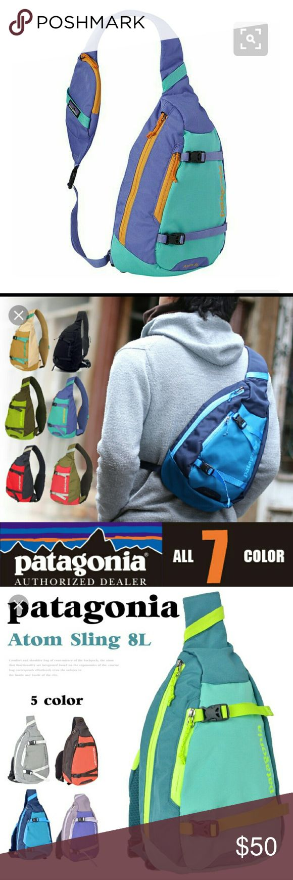 Patagonia Atom Sling 8L. Never used. Selling color in first photo. Patagonia Bags Crossbody Bags
