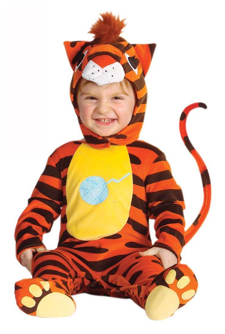 Tijgerkostuum voor baby's : Vegaoo Kinder Kostuums